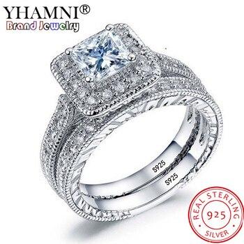 f389eb193675 Personalizado nombre corazón anillos de boda hombres mujeres joyería ...