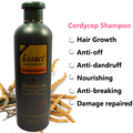 Hair Shampoo Hair Growth Nourishing Damaged Repair Cordyceps Shampoo Professional Care 500ml  Cooler Free Shipping