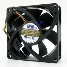 Original AVC 8025 DASD0825B2S 12V 1.2A 8cm intelligent dual ball bearing PWM fan speed control