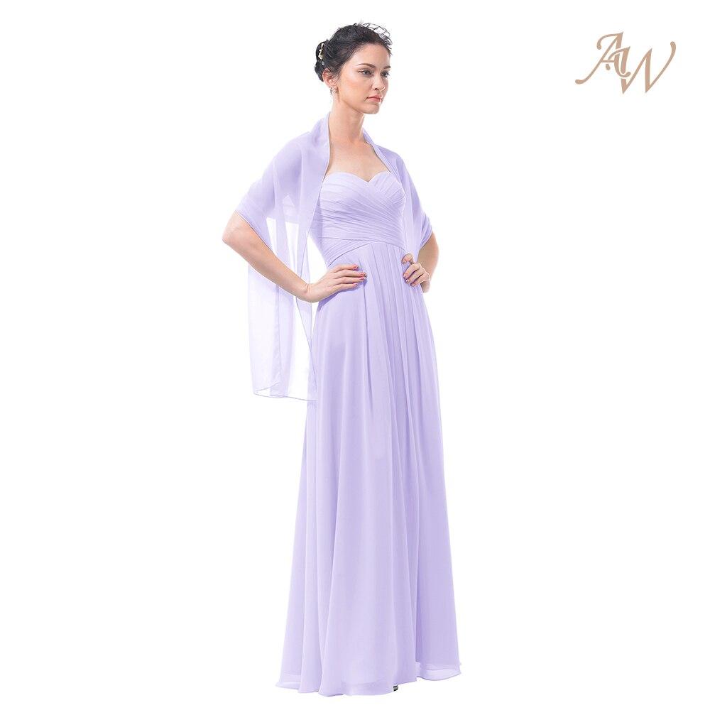 AW Frauen Chiffon Wraps und Multi Farben Schal für hochzeit Kleid ...