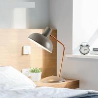 Metal moderno luz sala de aula de aprendizagem lâmpada de mesa luz shcool estudante Levou Lâmpada de mesa lâmpada de mesa verde 4 cores para selecionar