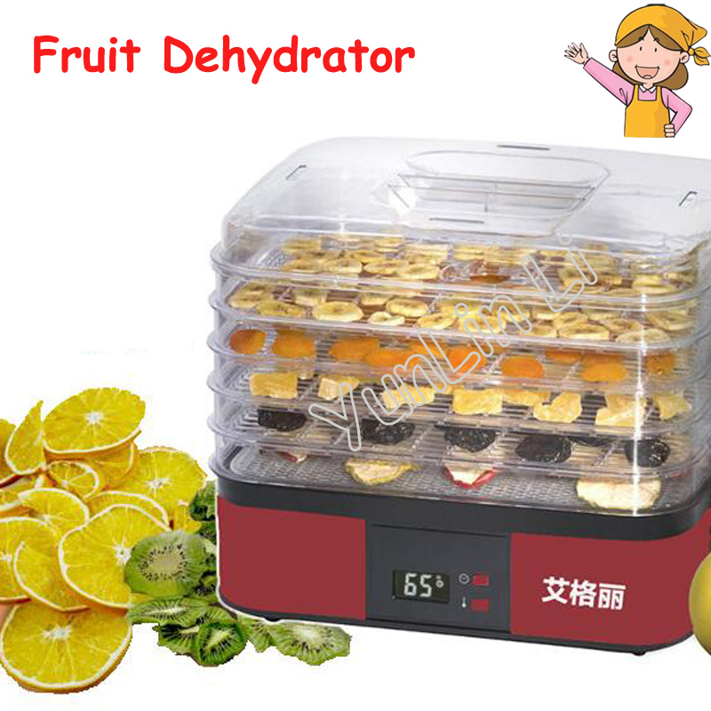 5-Layer Food Dryer Household Fruit/Vegetable Dehydrator 220V 250W Food Drying Machine AG1001 платья milomoor платье