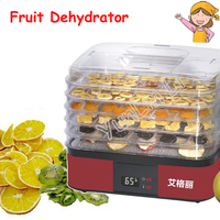 5 Layer Food Dryer Household Fruit Vegetable Dehydrator 220V 250W Food Drying Machine AG1001