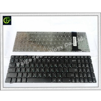 Teclado russa Para Asus N550 N550J N550JA N550JK N550JV N550L N550LF R750 R750J R750JK R750JV RU laptop|Teclado de substituição| |  -