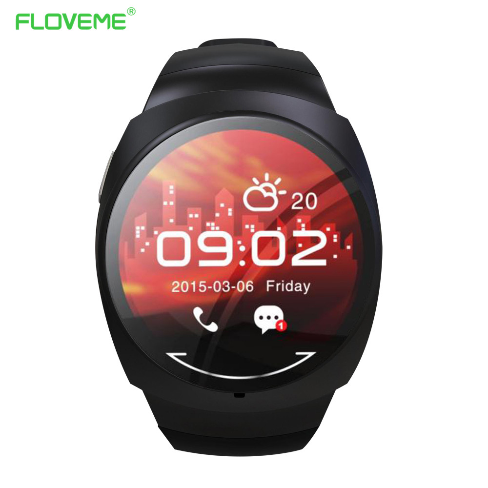 FLOVEME G1 Smart Watch Pedometer Smart Health For Apple IOS Android Bluetooth Wearable Clock Wristwatch Sleep Monitor Watches