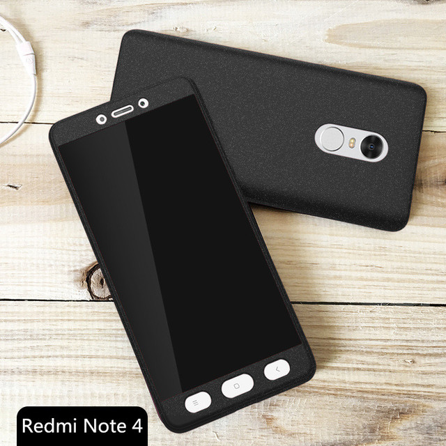 brand new 03550 8450f US $6.63  Fundas Xiaomi Redmi Note 4 Case Plastic Carcasa All Around  Protector Back Cover Coque Note4 Phone Bag Capa Christmas Present on ...