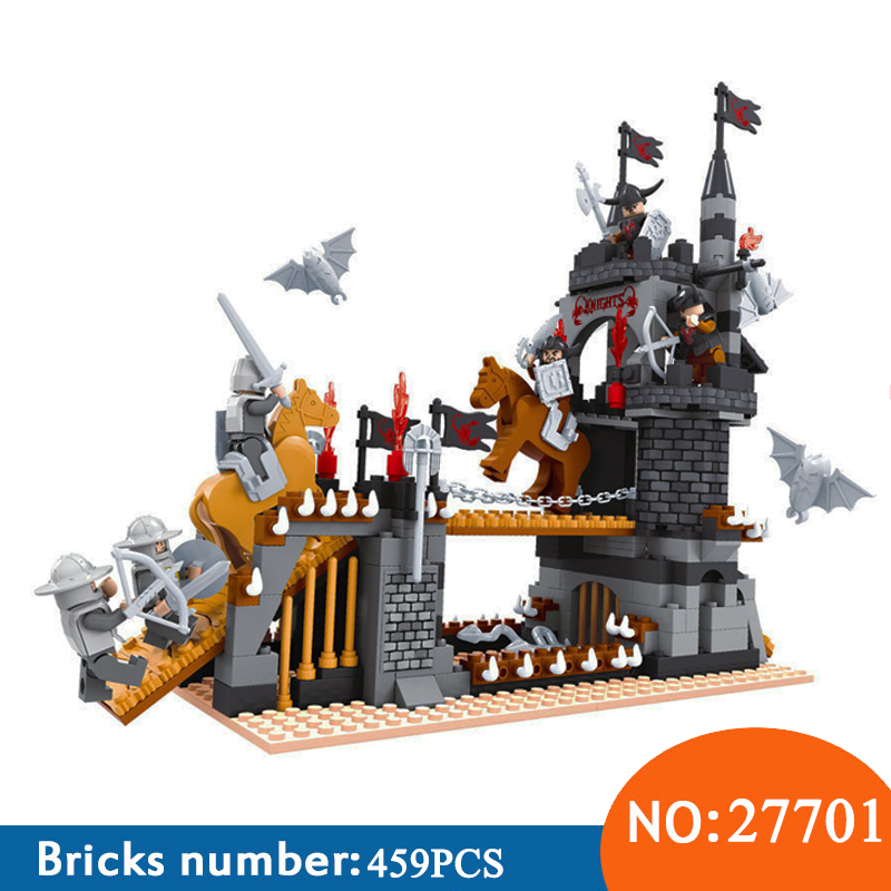 Ausini 27701 459pcs Nexus Knight Medieval Castle Building Blocks Toys For Children