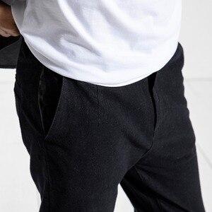 Image 2 - SIMWOOD Nuovo 2020 Dei Jeans della molla Degli Uomini Slim Fit di Modo casual Caviglia Lunghezza Pantaloni Del Denim Dei Pantaloni di Marca di Abbigliamento Plus Size 180400