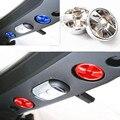 Más nuevos Techo Interruptor de la Perilla de La Cubierta Interior Accesorios ABS Para Jeep Wrangler jk 2007 Up