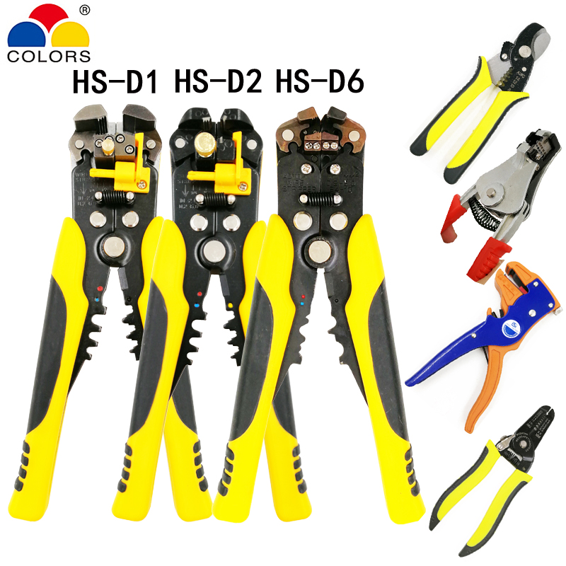 3 in 1 Multi tool Automatic Crimping pliers cable cutter stripper cable wire multifunction pliers electrical plier brand tools