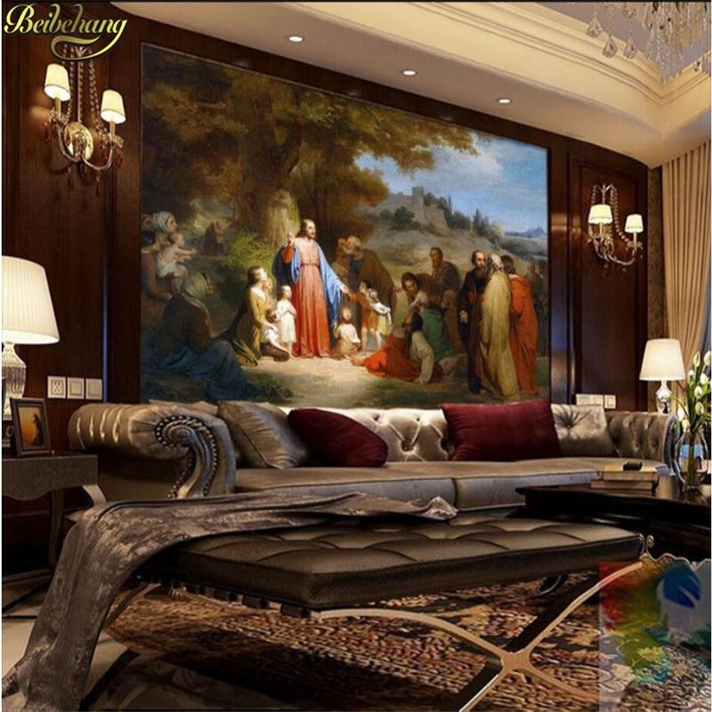 US $8.25 45% di SCONTO Beibehang 3d camera carta da parati per pareti  murale personalizzato 3d camera da letto Europeo pittura a olio foto della  ...