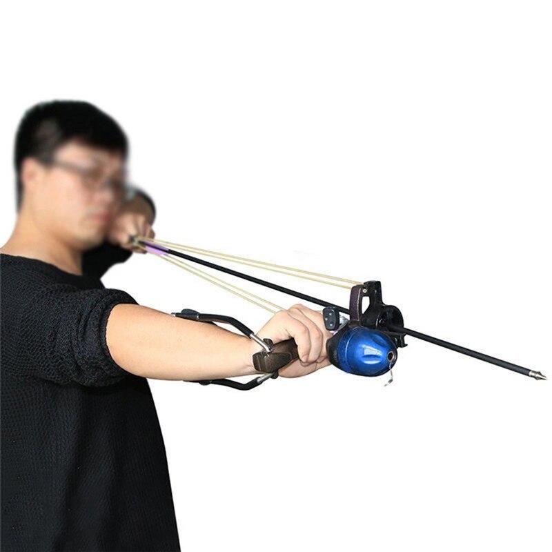 Adulto poderoso tiro ao alvo estilingue com
