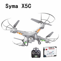SYMA X5C Upgrade Version RC Drone 6 Axis Remote Control Helicopter Quadcopter With 2MP HD Camera