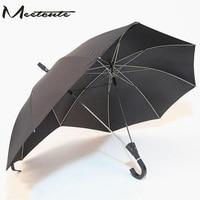 Meetcute Fashion Couple Umbrella Two Head Double Size Umbrella Super Cool Valentine Gift Lover Gift