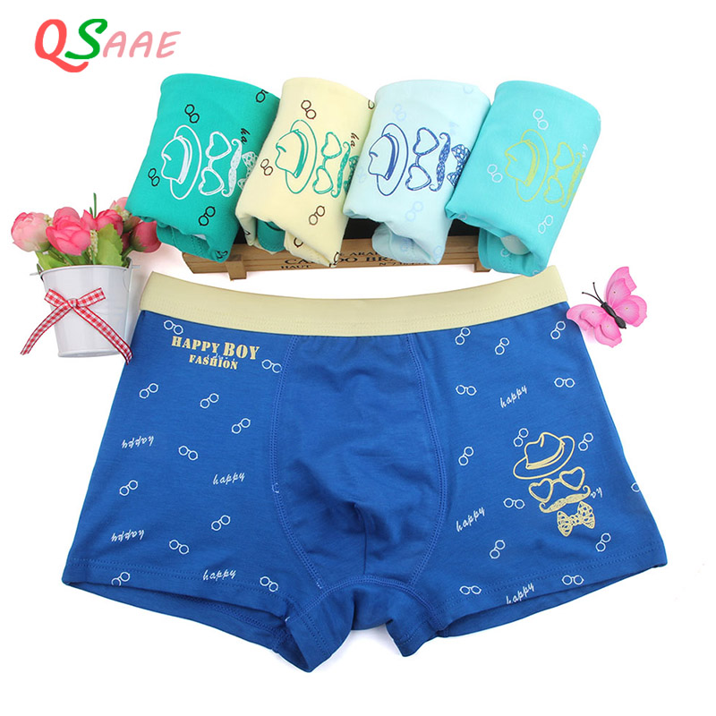 5 Pcs/Lot Cotton Children's Underwear Boys Shorts Kid Boy   Panties   Cartoon Briefs Boxer Underpants Kids Pant 9-16T Clothing