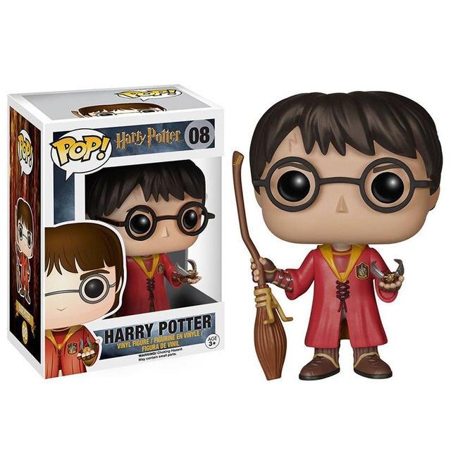 Harry Potter Quadribol FUNKO POP Ação pvc Figuras Coleção Modelo brinquedos para As Crianças Presentes de Natal Aniversário