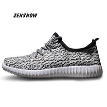 new2017 Comfortable fashion Light breathable male summer new casual flat shoes &37—-44size