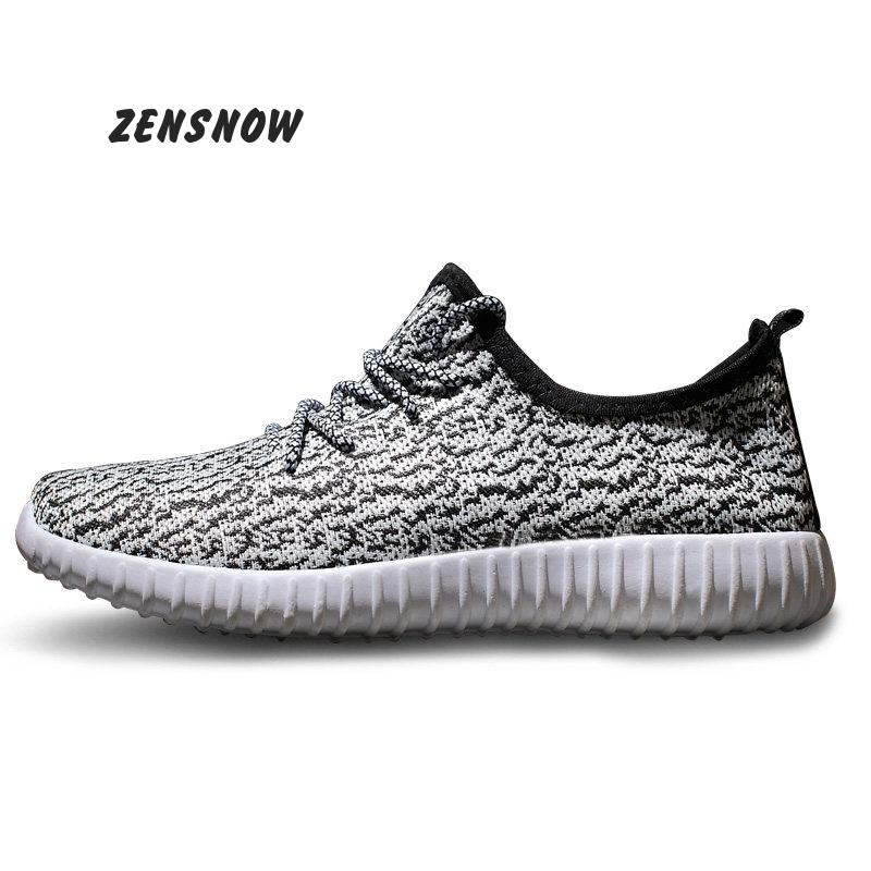 new2017 Comfortable fashion Light breathable male summer new casual flat shoes &37----44size
