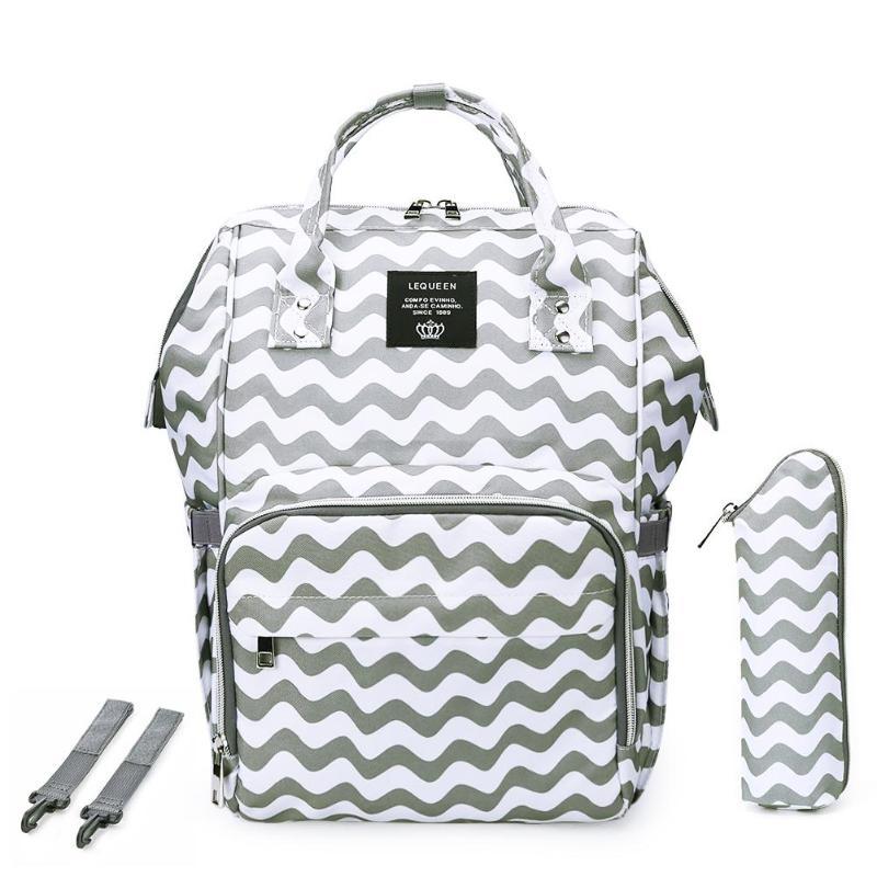 HTB1fa0zatjvK1RjSspiq6AEqXXa4 LEQUEEN Fashion USB Mummy Maternity Diaper Bag Large Nursing Travel Backpack Designer Stroller Baby Bag Baby Care Nappy Backpack