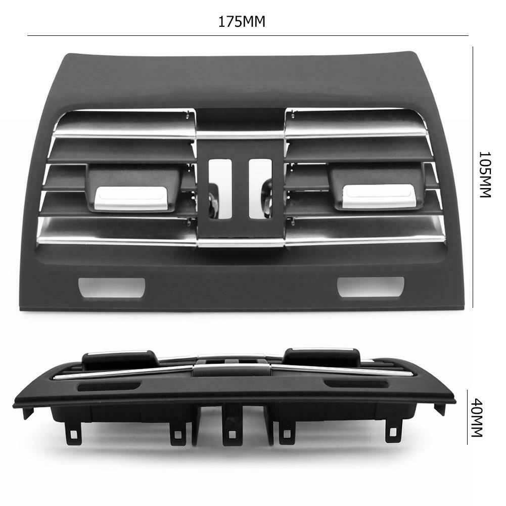 Interior Replacement Accessories Car Vent Outlet Panel Air Condition Grille Cover For BMW F02 F01 Black ABS PC