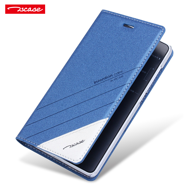 Tscase pu flip stand phone case for Xiaomi Mi Max 2 luxury Wake Up Sleep smart