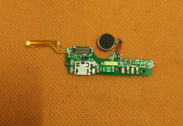 Used Original USB Plug Charge Board +Microphone mic For Elephone S7 Helio X20 Deca Core 5.5 FHD Free Shipping