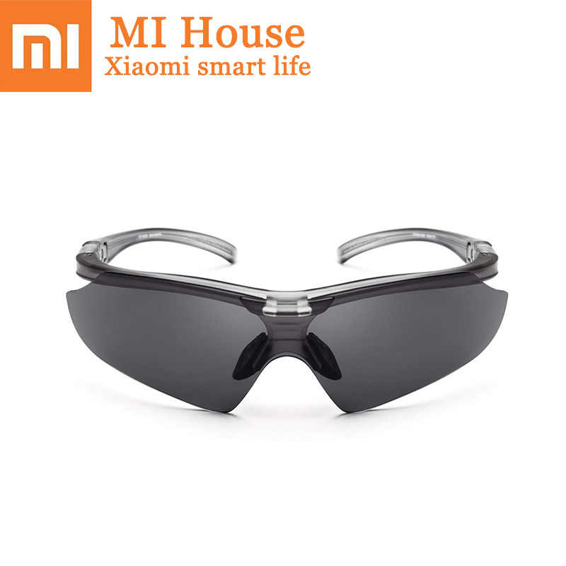 Xiaomi TS Driving Glasses Prevent Dizziness and Prevent Eye Fatigue  Cycling Glasses Driving Special Lens Anti-glare