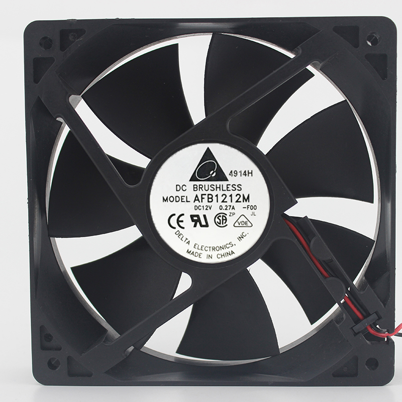 Brand new original 12cm 125 12V 0.27A AFB1212M double ball cooling fan