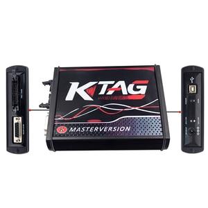 Image 5 - Online Master KESS V5.017 V2.53 + 4 LED KTAG V7.020 V2.23 No Token KESS 5.017 + K TAG K Tag 7.020 4 LED ECU Programmer DHL Free