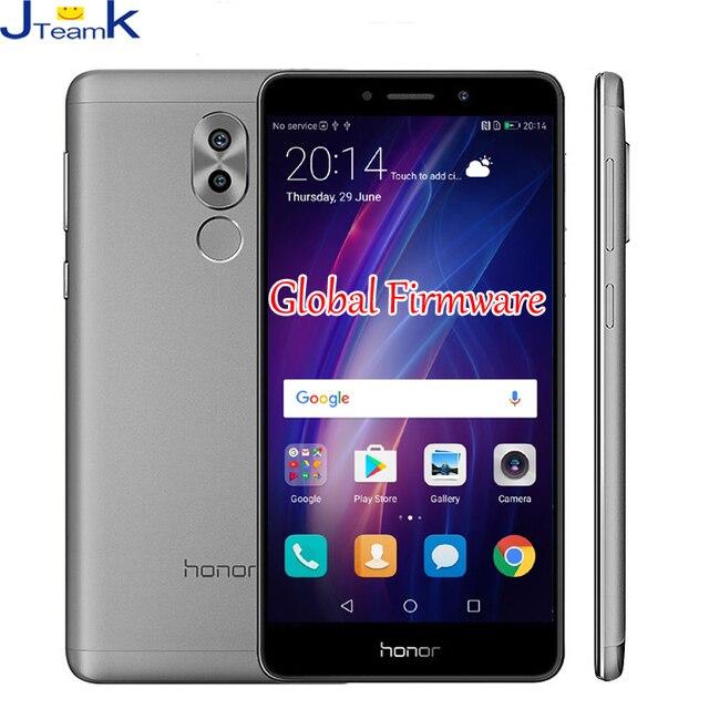 Huawei Honor 6X глобальной прошивки OTA обновление двойной сзади Камера 12MP 4 г FDD LTE телефон Octa Core 5.5 дюймов 1920 * 1080pix отпечатков пальцев