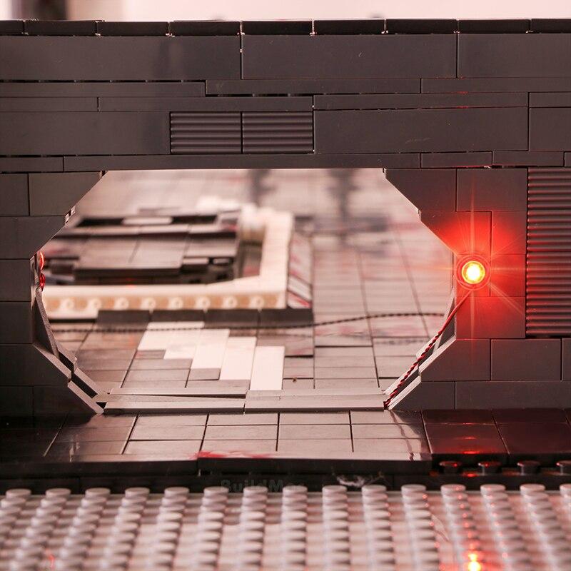 HA CONDOTTO LA Luce Kit Per Star Wars Super Star Destroyer Building Block Docking Bay 327 Compatibile con 05132 75192 Millennium Falcon-in Blocchi da Giocattoli e hobby su  Gruppo 2