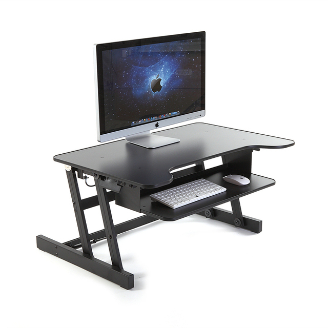 home office computer furniture. Height Adjustable Standing Desk Ergonomic Home Office Furniture Monitor Laptop Computer Workstation Keyboard Tray 81cm