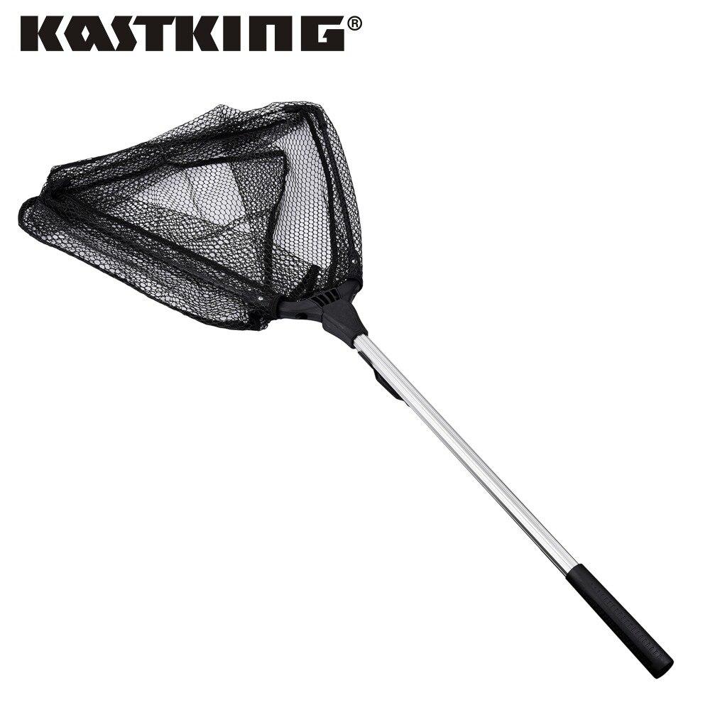 KastKing 90cm 160cm 210cm Folding Fishing Net Retractable Telescoping Aluminum Alloy Pole Super Large Folding Landing