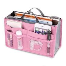 Новая женская модная сумка в сумках, органайзер для хранения косметики, макияж, Повседневная дорожная сумка Organizador Trousse Maquillage Femme