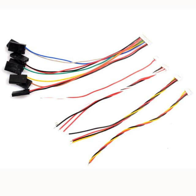 10CM F3 F4 Flight Controller Cable 1.0mm Pin For RC FPV Racing Camera Drone Spare Parts Accessories