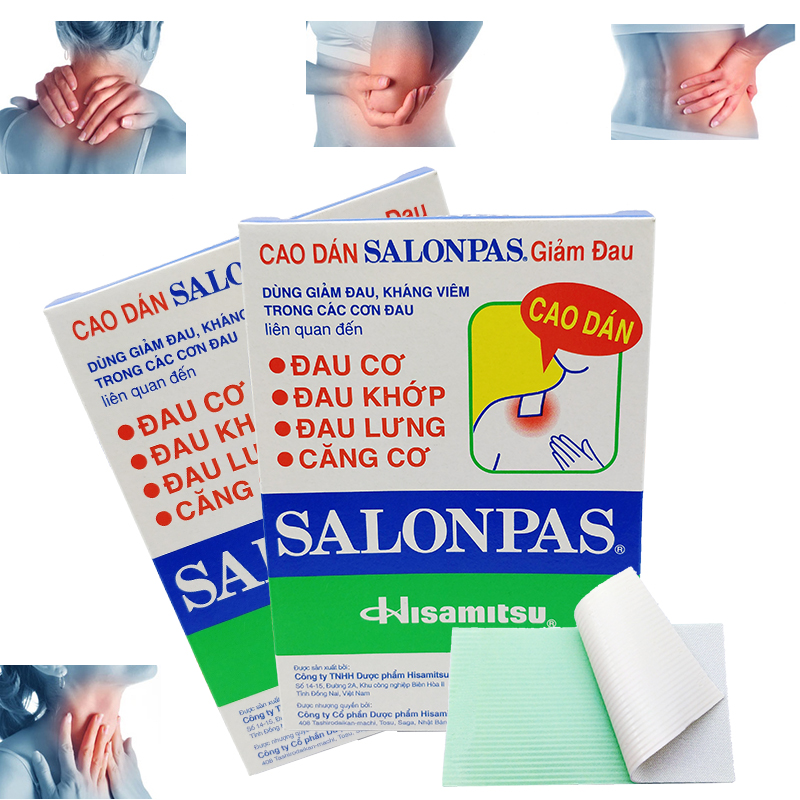 24pcs Muscle Pain Fatigue Relief Pain Relieving Herbal Patches Vietnam Salonpas Treatment Shoulder Neck Back Pain Leg Strain new design product good neck hammock for neck pain relief neck relief fatigue door handle hanging head neck hammock