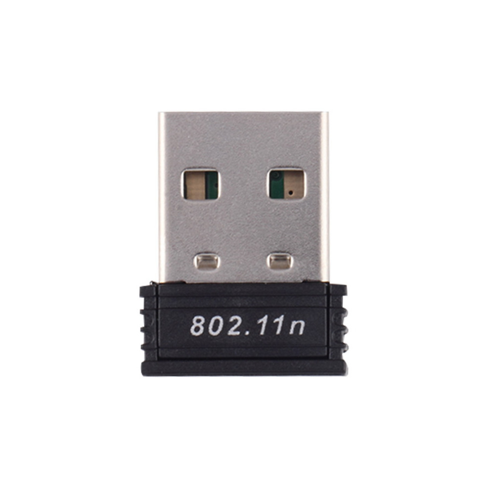 1pc Mini USB WiFi Adapter Driver 802.11 B/g/n Wi-Fi Dongle High Gain 2.4 GHz 150Mbps Wireless Antenna Wifi For Computer Phone
