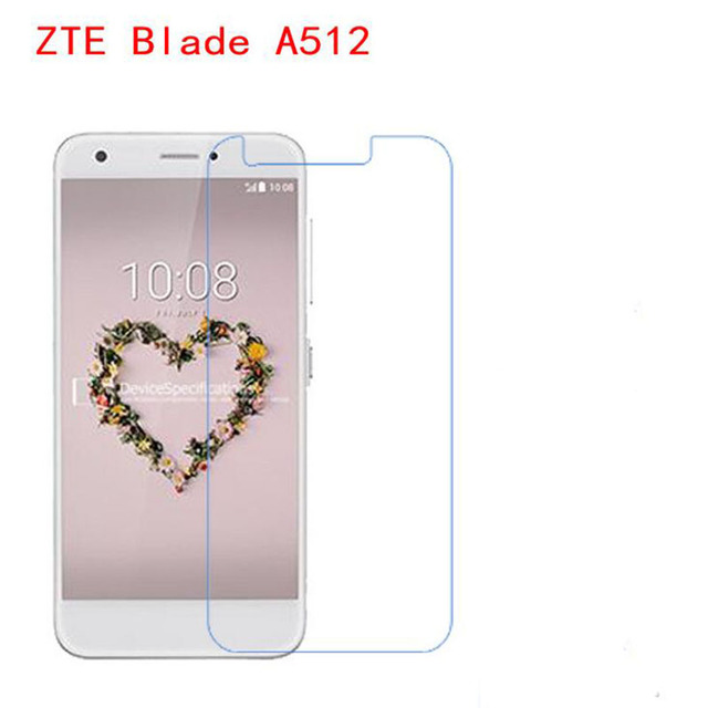 Phone film Scratch resistant For ZTE BLADE A512 LCD digitizer touch screen protector