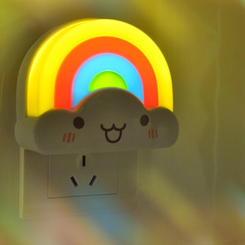Luzes da Noite do bebê presentes de natal Formato : Rainbow