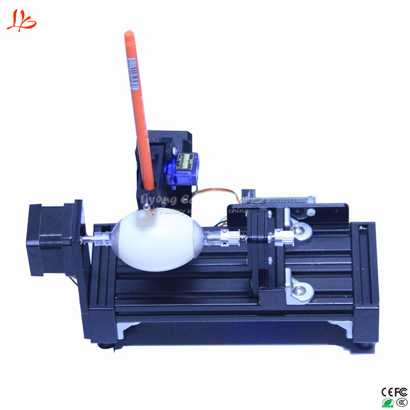 LY normal size eggdraw eggbot Egg-drawing robot draw machine Spheres drawing machine drawing on egg and ball naiyue 6334 unicorn print draw diamond drawing