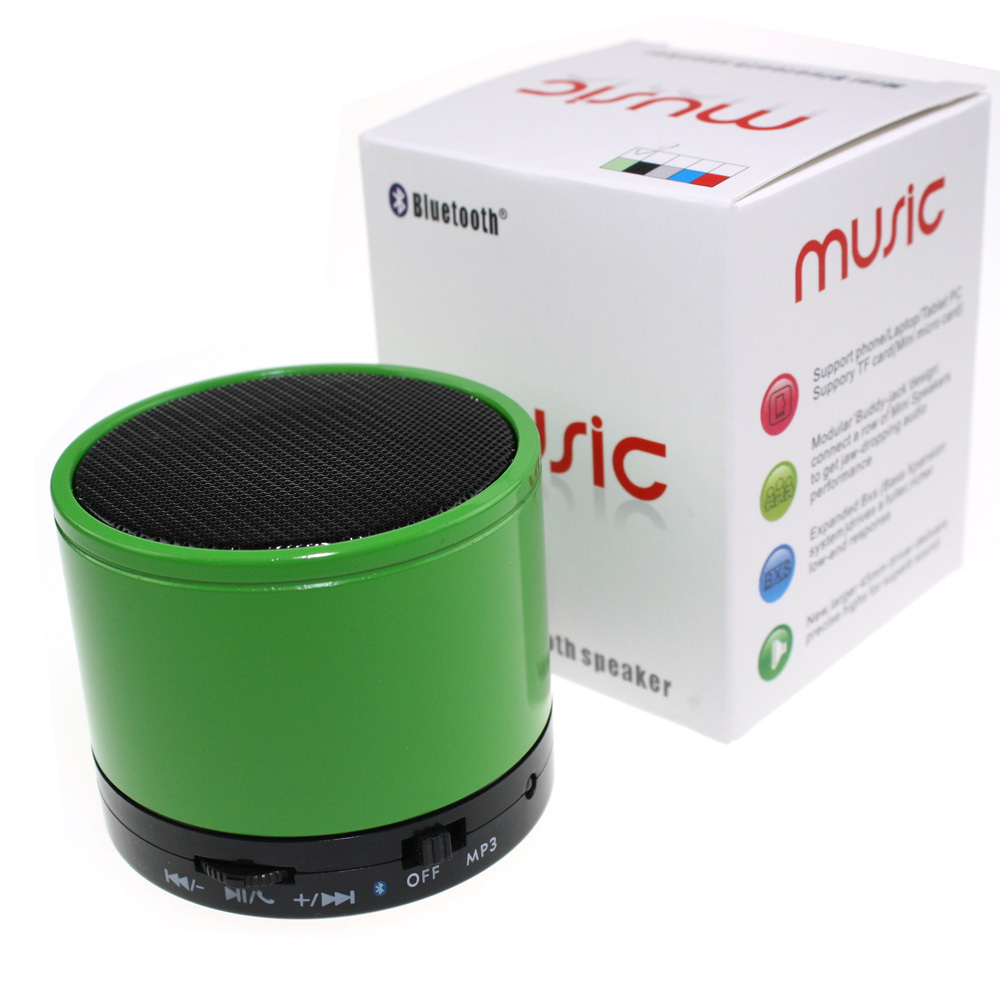Portable Bluetooth Wireless Mini Speaker MP3 Player TF Card Slot Super Bass