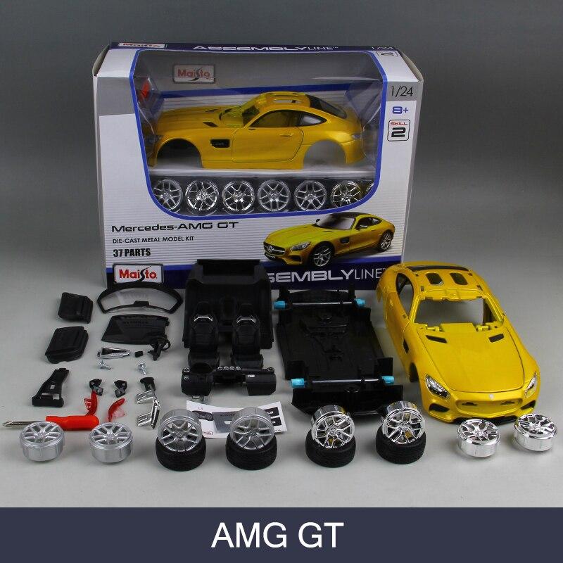 Aliexpress.com : Buy Assembly Model Car AMG GT Model