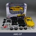 Modelo de montagem Do Carro AMG GT Model building Kit 1:24 Modelo de Montagem bloco de liga de veículo de brinquedo diy modelo de carro de brinquedo para o presente coleção