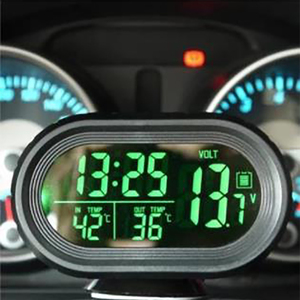 Car clock car thermometer Deco