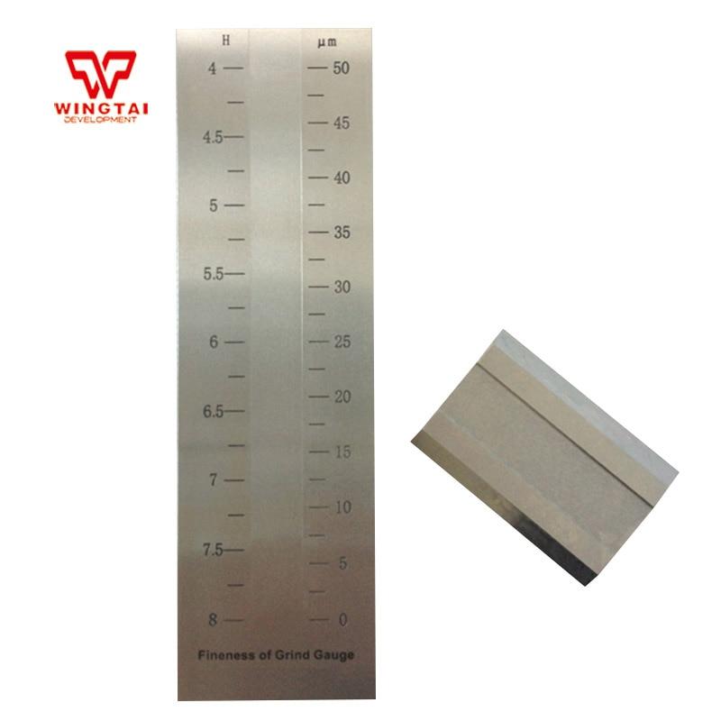BGD241/2 (0 50um) из нержавеющей стали скребок тонкость датчика/hegman Измельчить датчик/краска Gauge