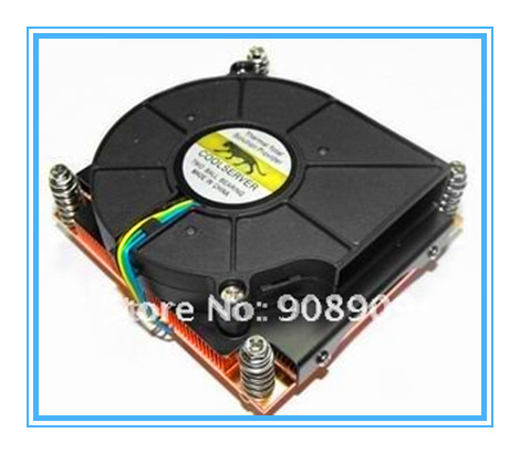 New CPU Cooler Processor Socket 1156/1155 for 1U server with fan