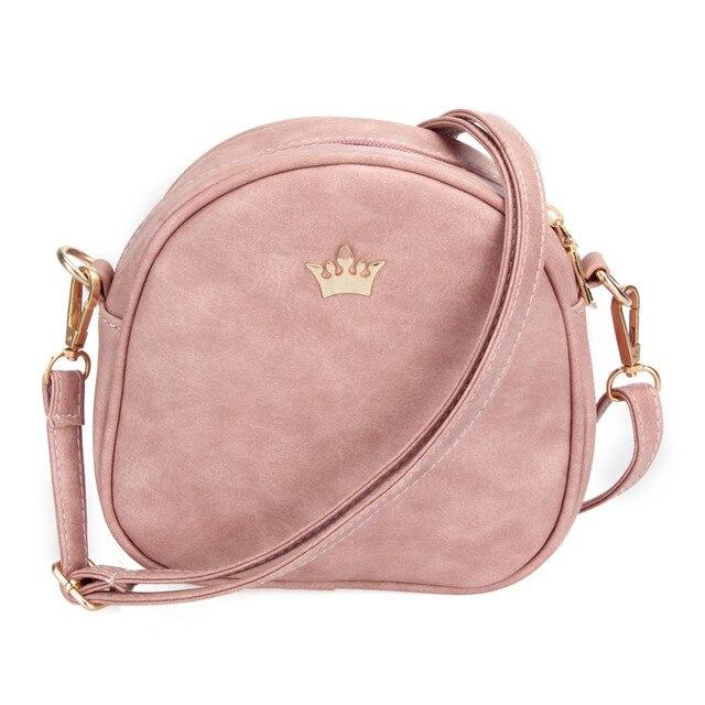 Nuevo bolso de diseñador de moda bolso de teléfono bolso de mujer pequeño bolso Imperial corona mujer bolso bandolera de cuero PU