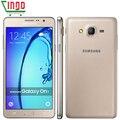 Nuevo teléfono celular original de samsung galaxy on7 5.5 ''13mp quad core 1280x720 dual sim smartphone 4g lte desbloqueado móvil teléfono