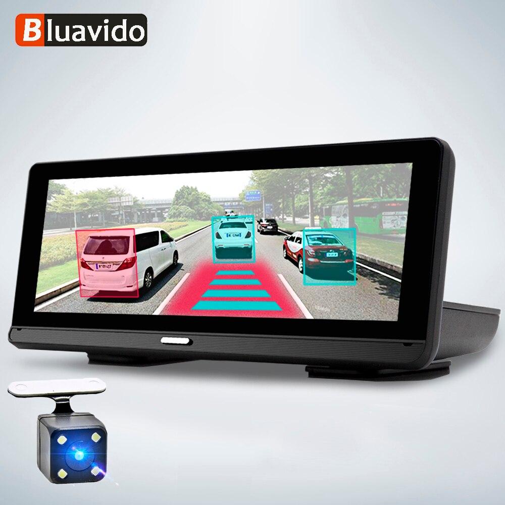 Видеорегистратор Bluavido 8 в 1 с радар-детектором