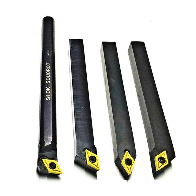 4 stücke 10mm Schaft Drehmaschine Bohren Bar Drehen Werkzeug Halter S10k SDUCR07/SDJCR1010H07/SDJCL1010H07/SDNCN1010H07